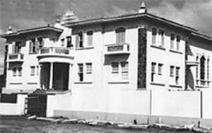 Palácio Episcopal em 1947, localizado na Avenida Constituição.