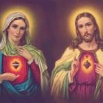 O Sagrado Coração de Jesus e o Imaculado Coração de Maria