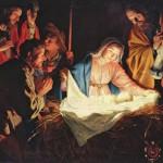 Santo Natal e abençoado ano novo