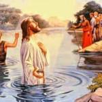O batismo de Nosso Senhor Jesus Cristo