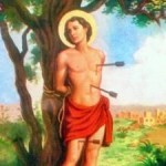 Um jovem, cristão e soldado, chamado Sebastião