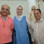 Celebração dos Votos temporários da Irmã Lua Puebla