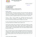 Carta de Dom Odilo Scherer