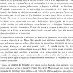 Carta de Agradecimento da Comunidade de Turiúba da Som Tomé