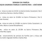 SAGRADA FAMÍLIA E SANTOS REIS – JOSÉ BONIFÁCIO