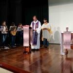 Momento de Formação com padre Luiz Baronto
