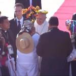 Indígenas mexicanos homenageiam o Papa