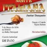3ª Noite Italiana