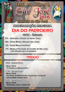 cartaz festa de são jose 2016