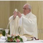 Papa: O testemunho cristão é uma graça