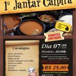1º Jantar Caipira