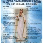 Celebrações em louvor a Nossa Senhora de Fátima