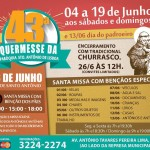 43ª Quermesse da paróquia Santo Antônio de Lisboa