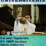 Missa Universitária na FAMERP