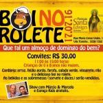 Paróquia Sta. Edwiges promove Boi no Rolete