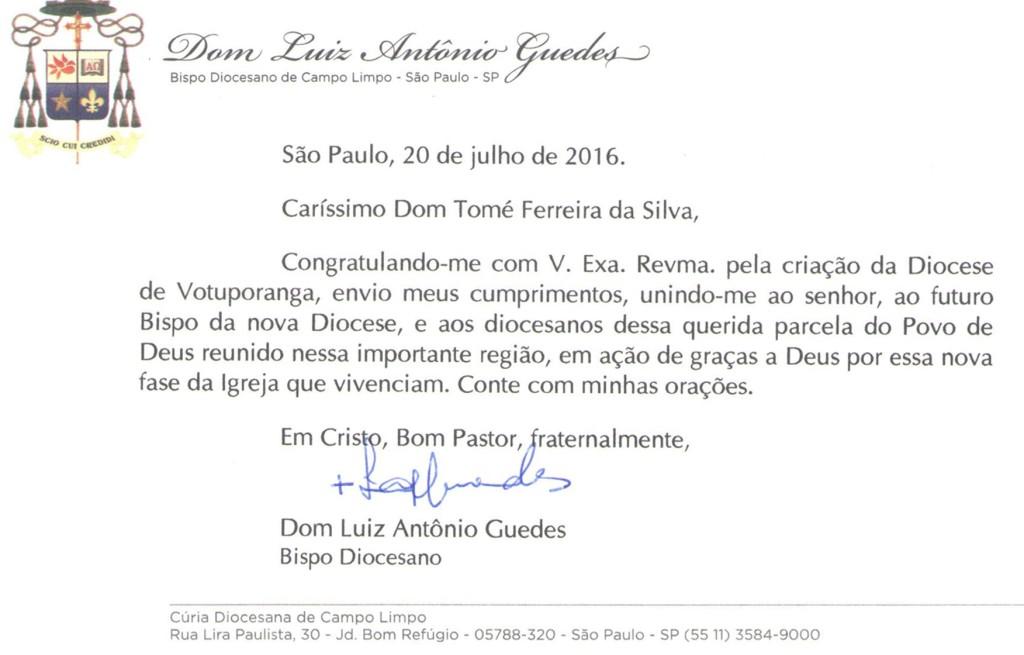 Carta_Dom Luiz