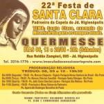 Capela Santa Clara celebra a Festa da padroeira
