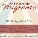 5ª Festa do Migrante