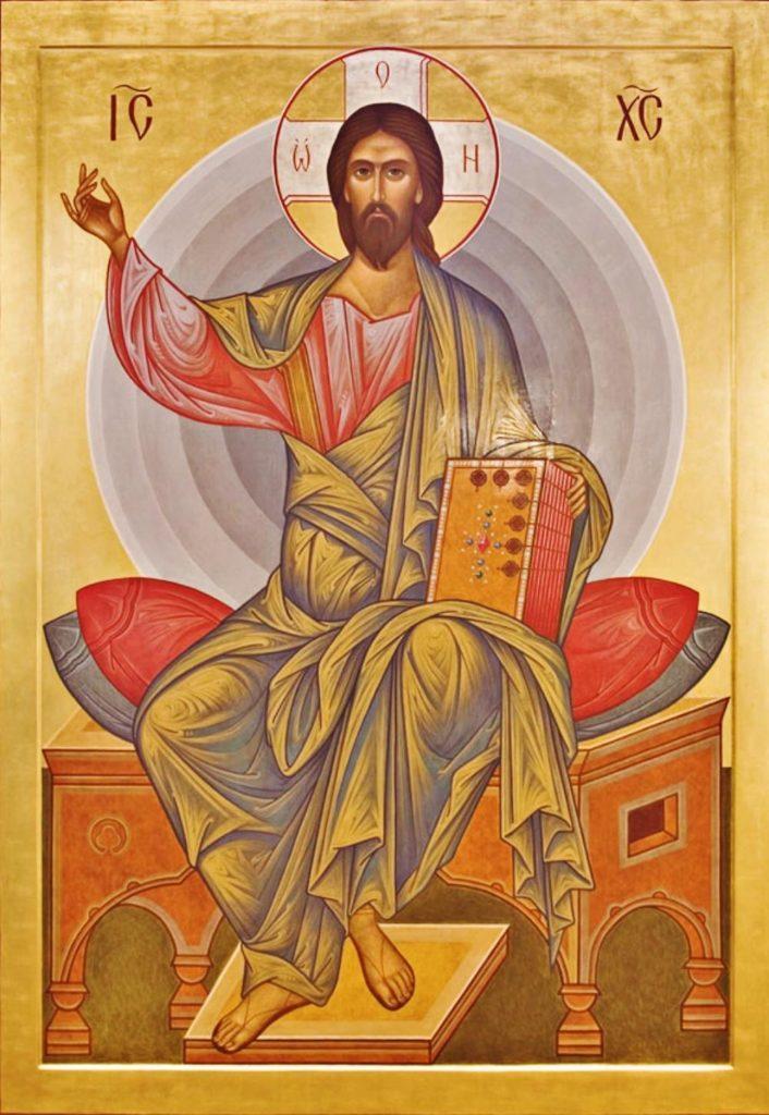 viktor-krivorotov-christ-enthroned-as-heavenly-king-2000s