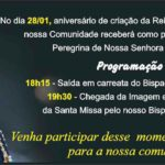 Paróquia Nossa Senhora Aparecida celebra 16 anos de criação da reitoria