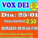 Comunidade Vox Dei promove dia 25 de Janeiro