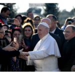 Papa visita a paróquia em Roma