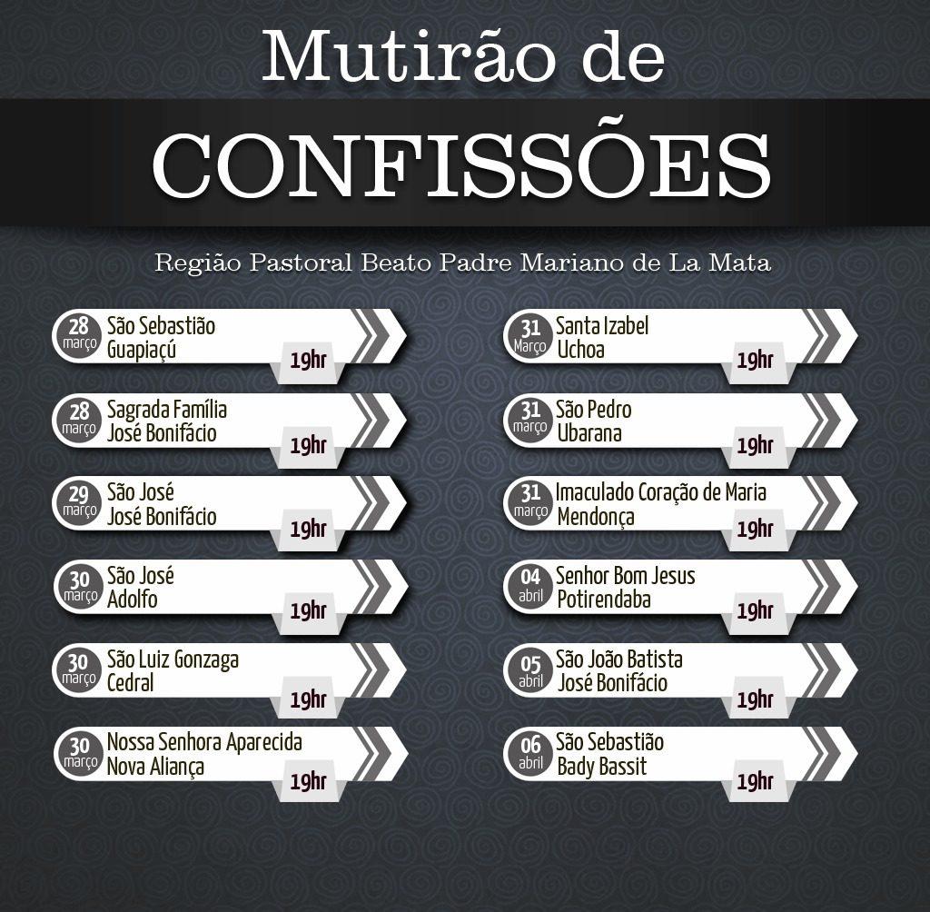 MUTIRAO DE CONFISSOES