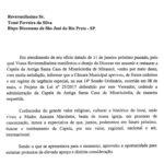 Câmara de Mirassol aprova projeto de lei que cede a administração da Capela da Antiga Santa Casa de Misericórdia à Diocese