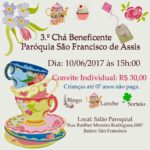 3º Chá Beneficente