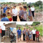 Dom Tomé visita favela em Rio Preto