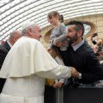 Papa no encontro com trabalhadores