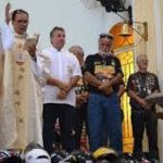 Missa dos motociclistas completa 41 anos
