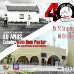 Paróquia Jesus Bom Pastor e São Sebastião celebra 40 anos com exposição fotográfica