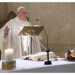 Papa celebra na Casa Santa Marta