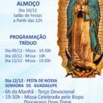 Capela Nossa Senhora de Guadalupe celebra a padroeira