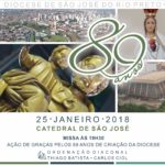 Diocese celebra 89 anos