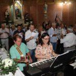 Missa do Natal na paróquia São Pedro