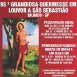 95ª Festa de São Sebastião de Talhado
