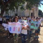 Caminhada pela Paz na paróquia São Pedro