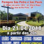 Quermesse na Paróquia São Pedro e São Paulo