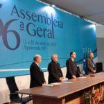 56ª AG – Encerra-se a 56ª Assembleia Geral da CNBB, em Aparecida (SP).
