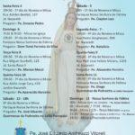 Paróquia de Fátima dá início à festividade com missa e tradicional procissão de velas