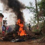Desocupação de barracos em favela termina em confusão em Rio Preto