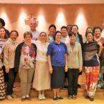 POM recebe religiosos para formação