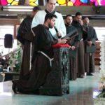11 religiosos professam votos solenes
