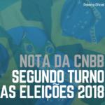 CNBB divulga Nota: 2º turno das eleições 2018