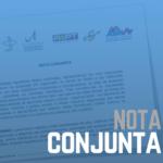 CNBB: Nota Conjunta com outras entidades