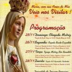 """Paróquia São Benedito, Jaci: """"Maria veio nos visitar"""""""