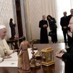 Papa recebe presidente israelense Rivlin