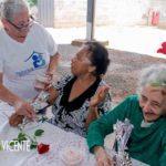 A paróquia que ofereceu almoço aos pobres